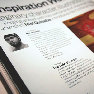 computer arts magazine feature